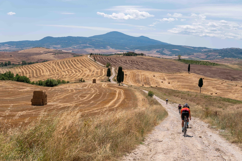 White Gravel Roads of Italy